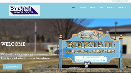 Bucktail-Medical-Center-Website
